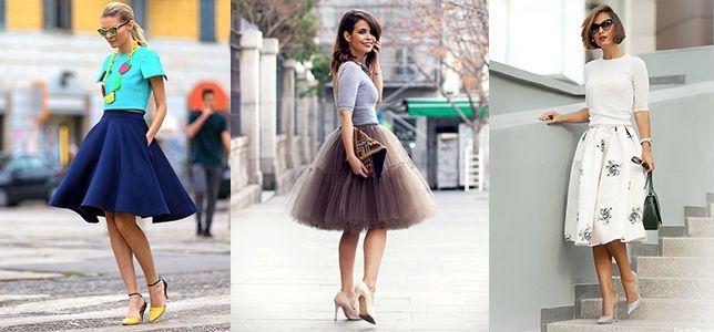 Женская обувь на каблуке - как подобрать юбку?