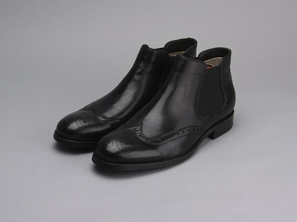 мужские ботинки челси черные