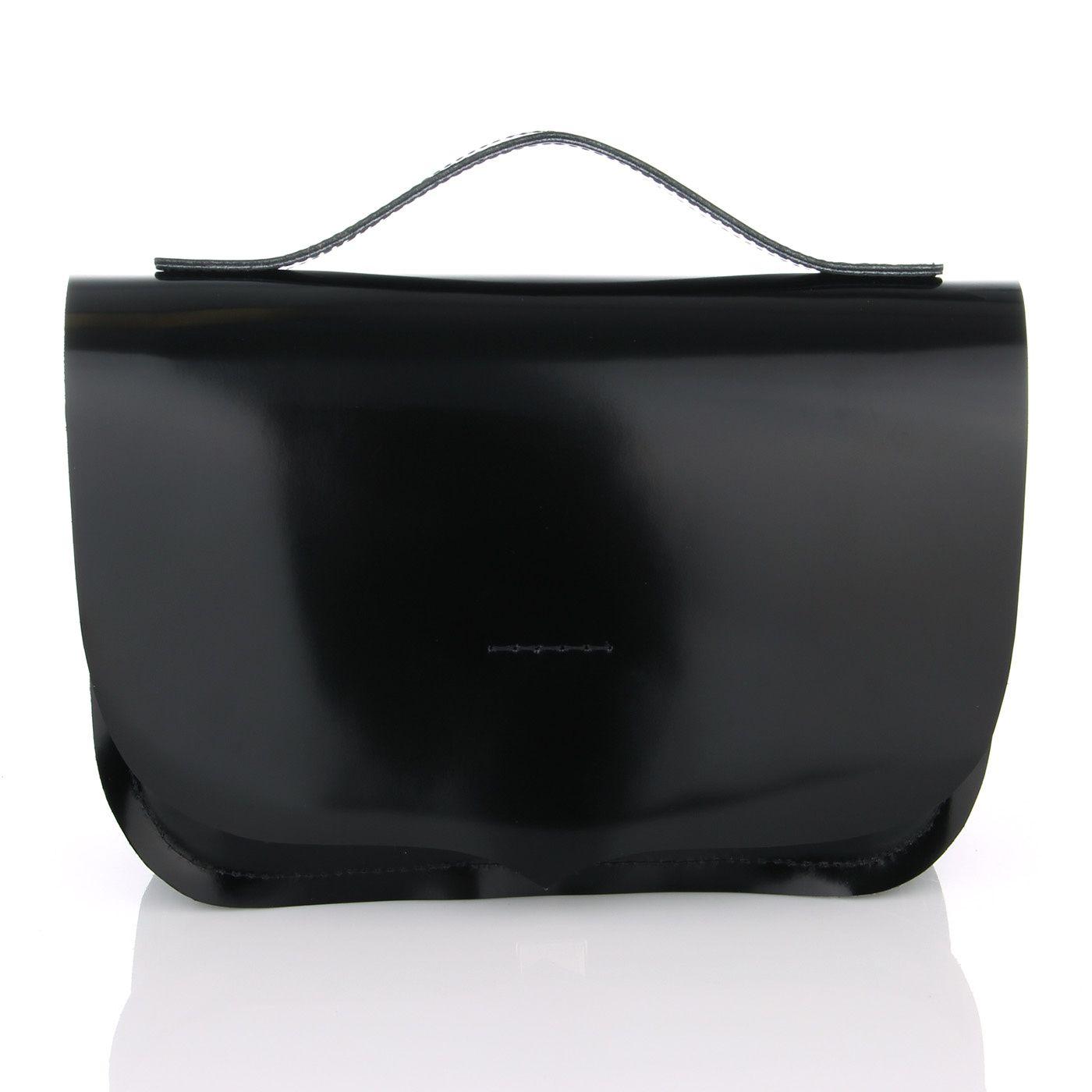 Классическая черная сумочка женская