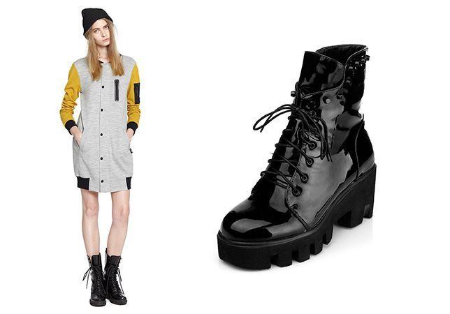 Практичные женские ботинки
