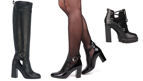 модные осенние женские ботинки