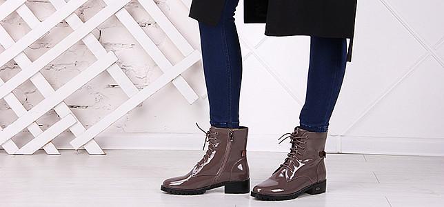 Обувь из лаковой кожи в Харькове