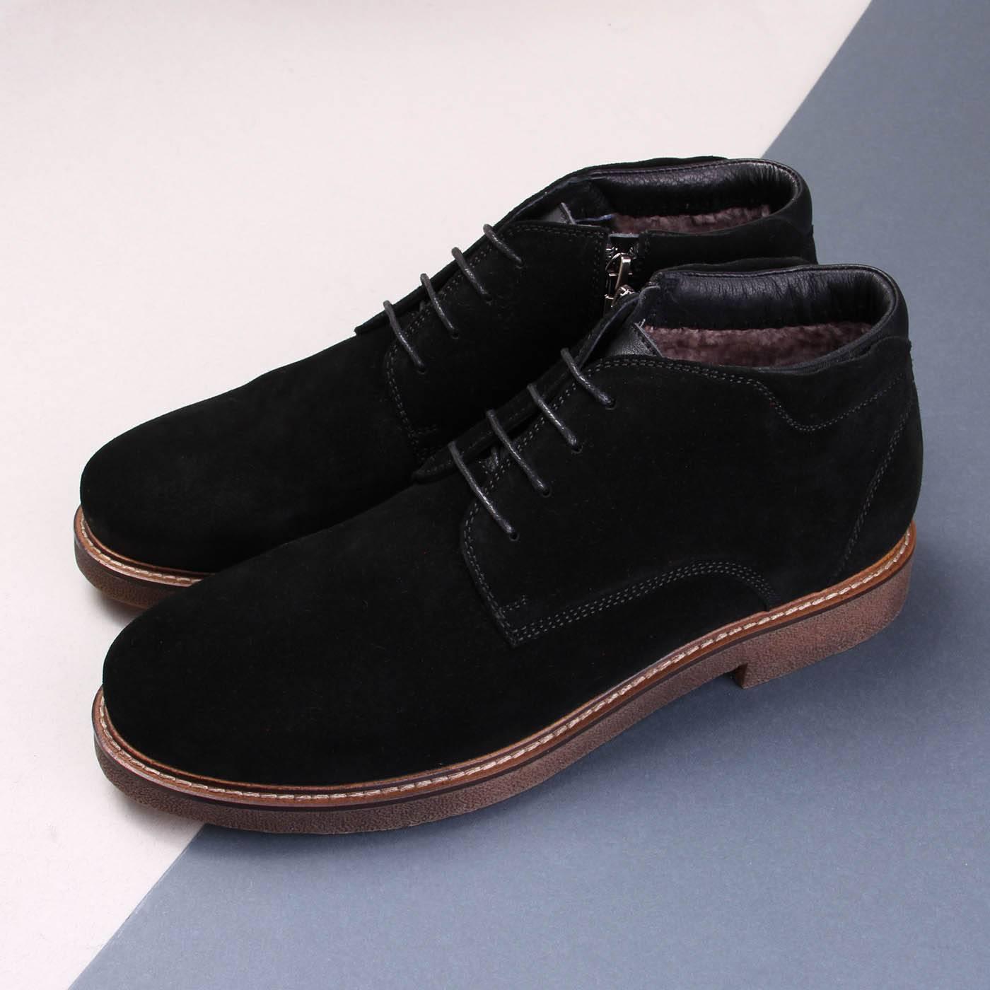 3f8f6120bd9be2 Черевики чоловічі ditto 6308 Чорний купить по выгодной цене в ...