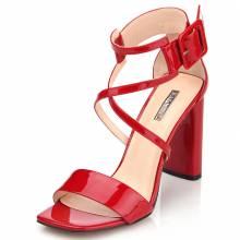 Босоніжки жіночі Basconi 7423 Червоний купить по выгодной цене в ... d2695cf181056
