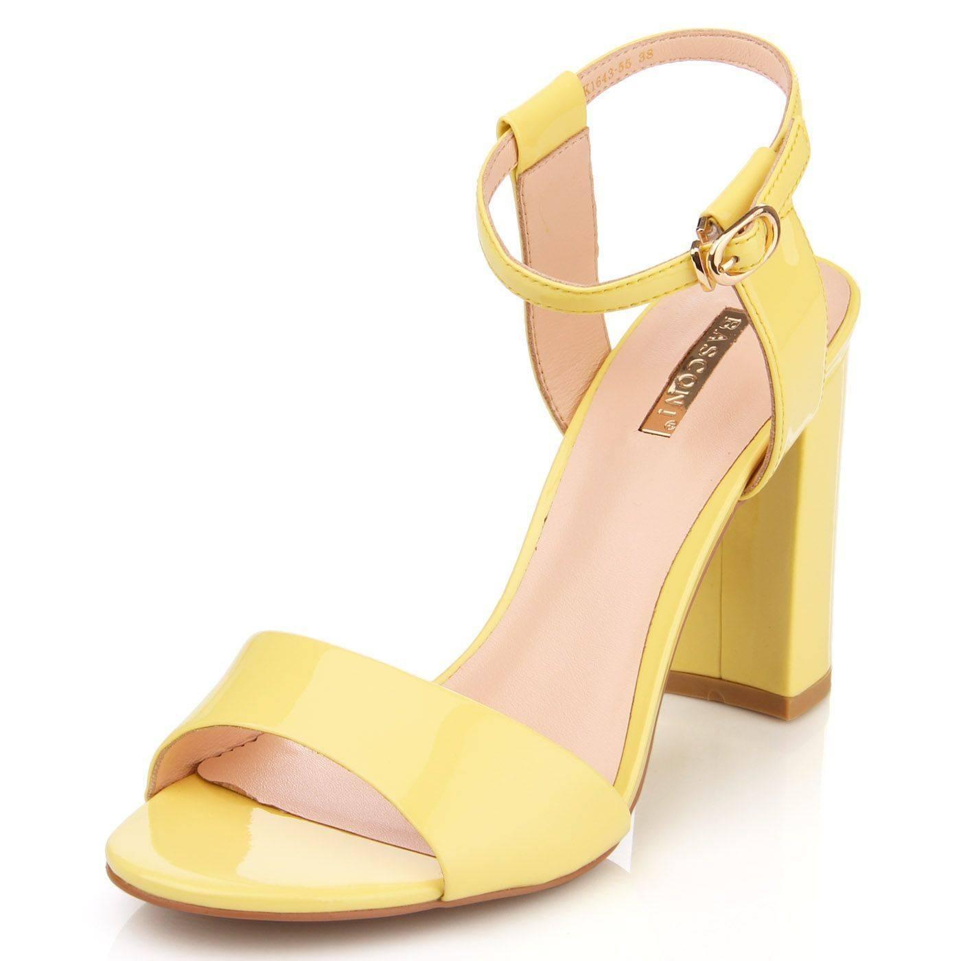 e13c77a379d307 Босоніжки жіночі Basconi 5030 Жовтий купить по выгодной цене в ...