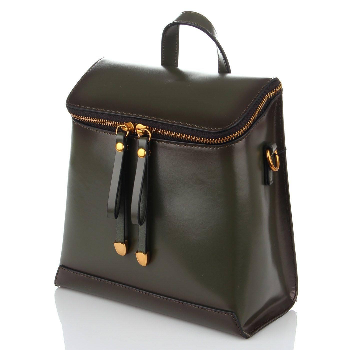 2b0d928212d8 Сумка-рюкзак женский Basconi 5131 Зеленый купить по выгодной цене в ...