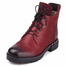 Женские бордовые ботинки, купить женские ботинки бордового цвета в ... b80cab82957