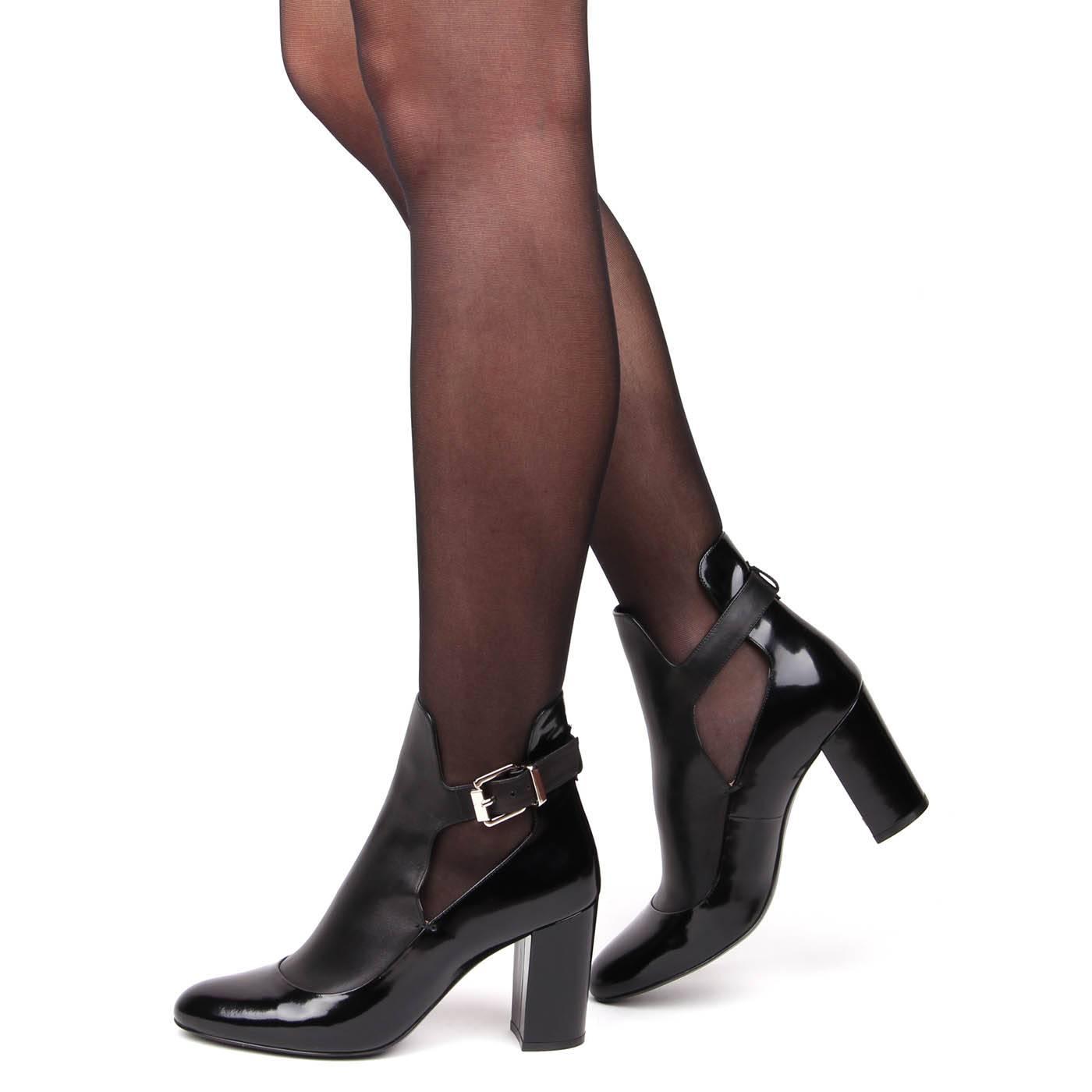Черевики жіночі Basconi 6235 Чорний купить по выгодной цене в ... f0108ff6be10e