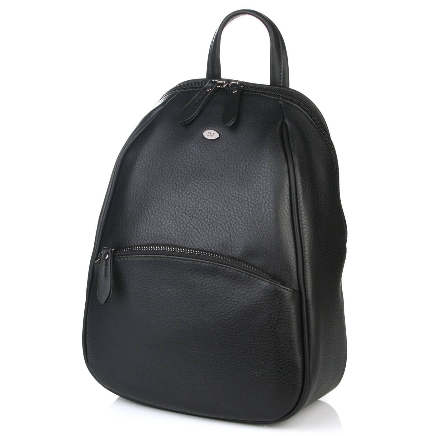 3bde9ce60874 Рюкзак женский David Jones 6042 Черный купить по выгодной цене в ...