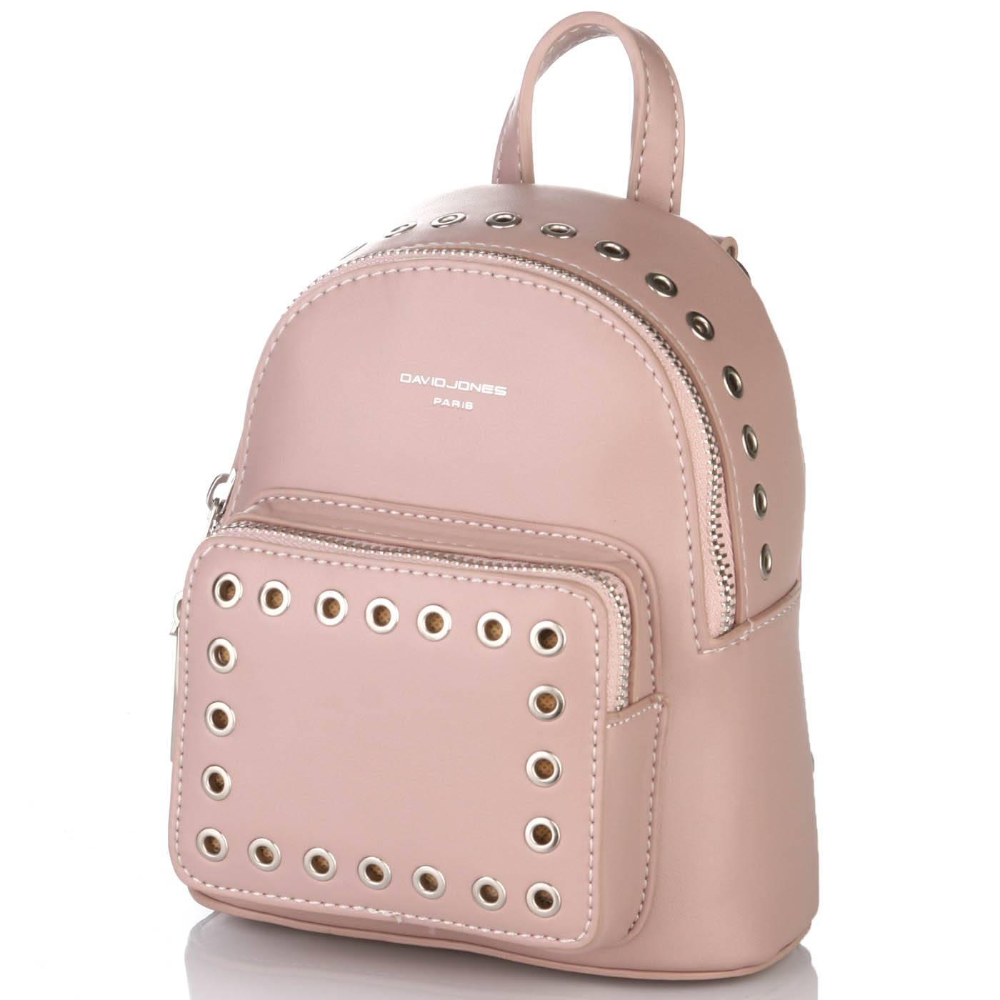 5dfcd98a3f9d Рюкзак женский David Jones 6557 Розовый купить по выгодной цене в ...