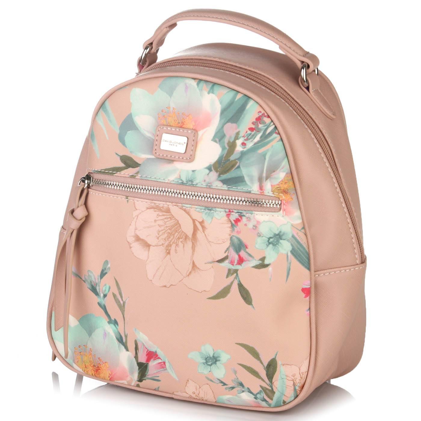 1d2a476b209e Рюкзак женский David Jones 6562 Розовый купить по выгодной цене в ...