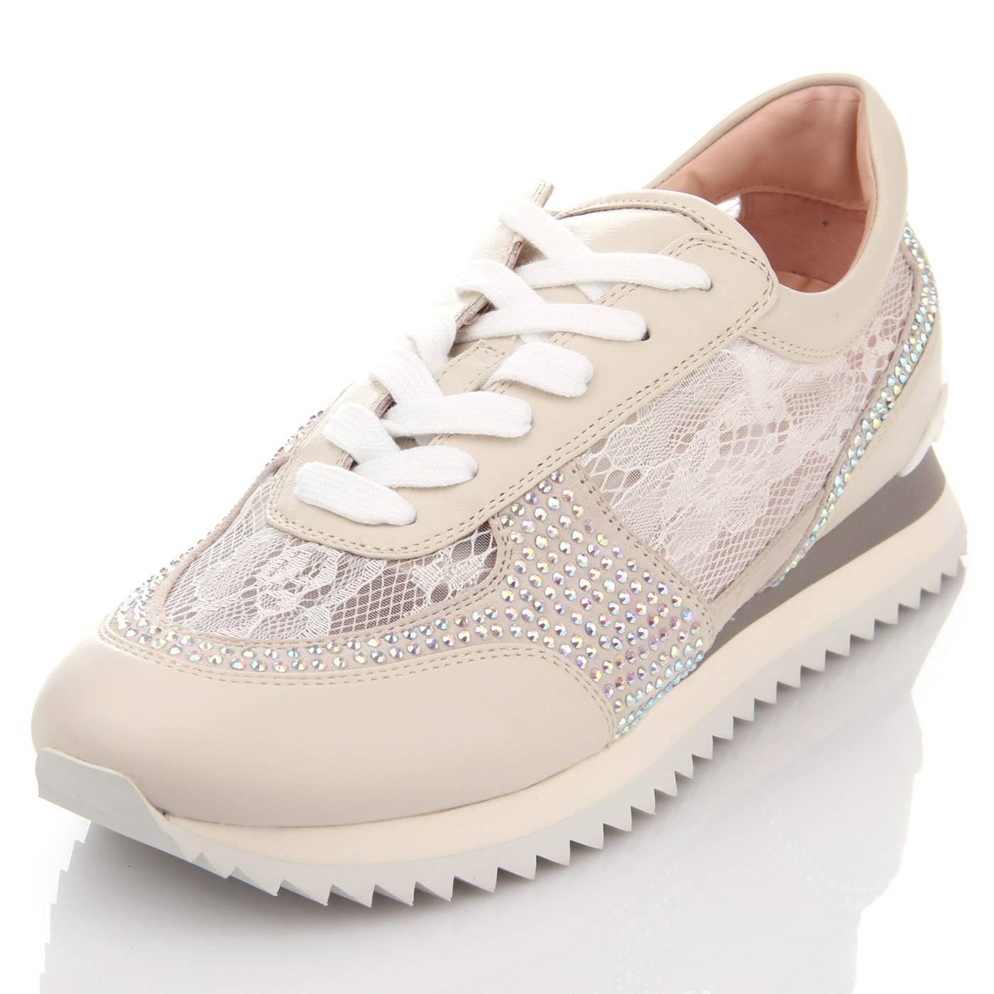 Кросівки жіночі Basconi 5664 Бежевий купить по выгодной цене в ... 6da29d422fdd6