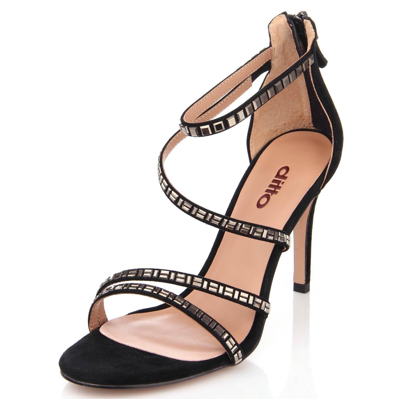 Босоніжки жіночі ditto 6464 Чорний купить по выгодной цене в ... 7f22ee83e5f79