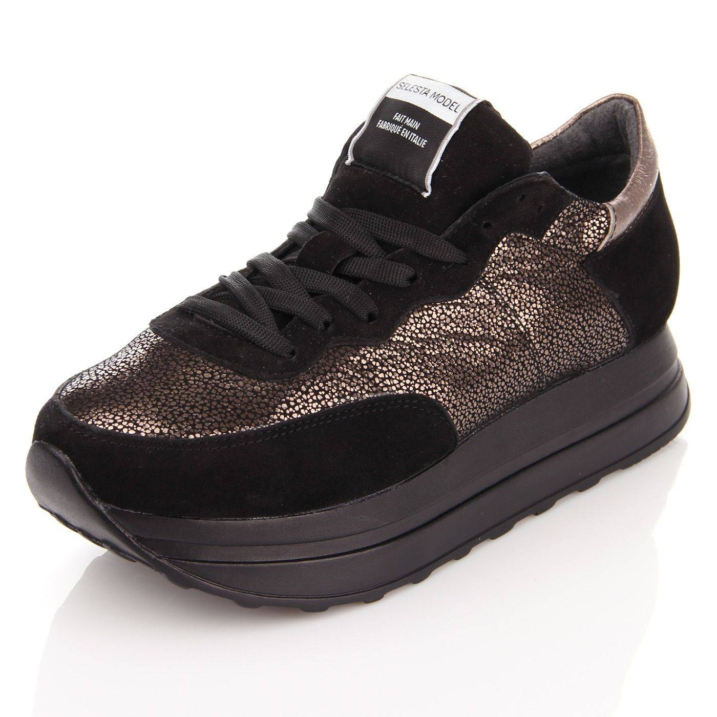 Кросівки жіночі Selesta 4265 Чорний купить по выгодной цене в ... 5c7fdeb253bed
