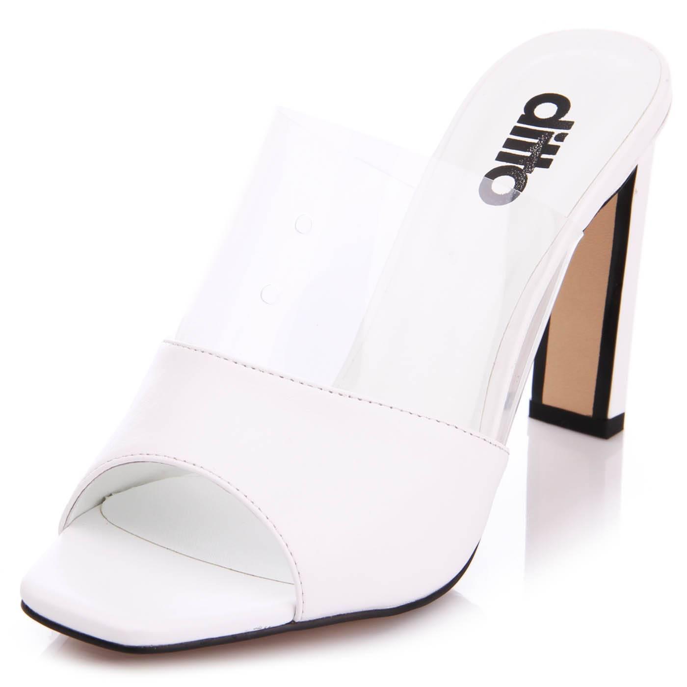 07d0cd26f Мюли женские ditto 7766 Белый купить по выгодной цене в интернет ...