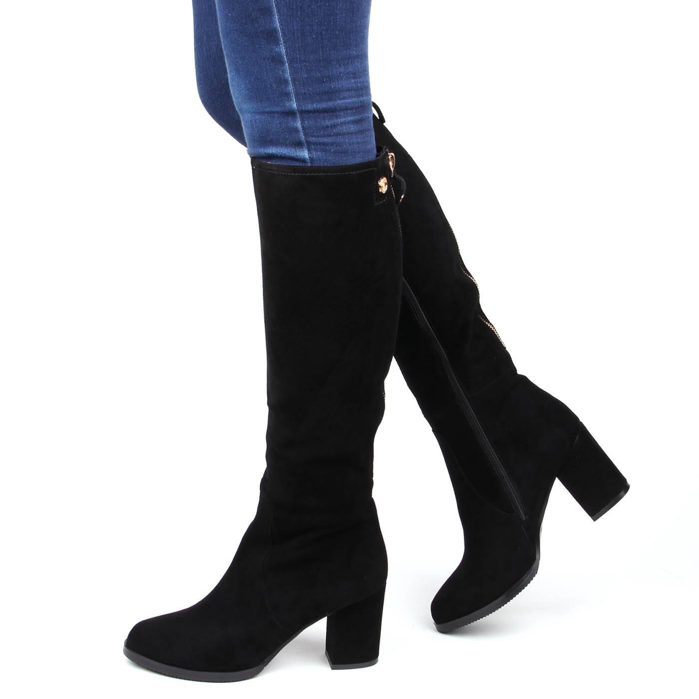Чоботи жіночі ditto 5870 Чорний купить по выгодной цене в интернет ... a2da889179e2f