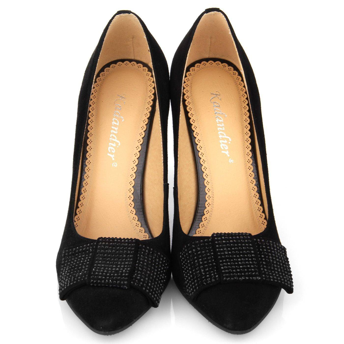 Туфлі жіночі Kadandier 3373 Чорний купить по выгодной цене в ... be9ca3f9886a6
