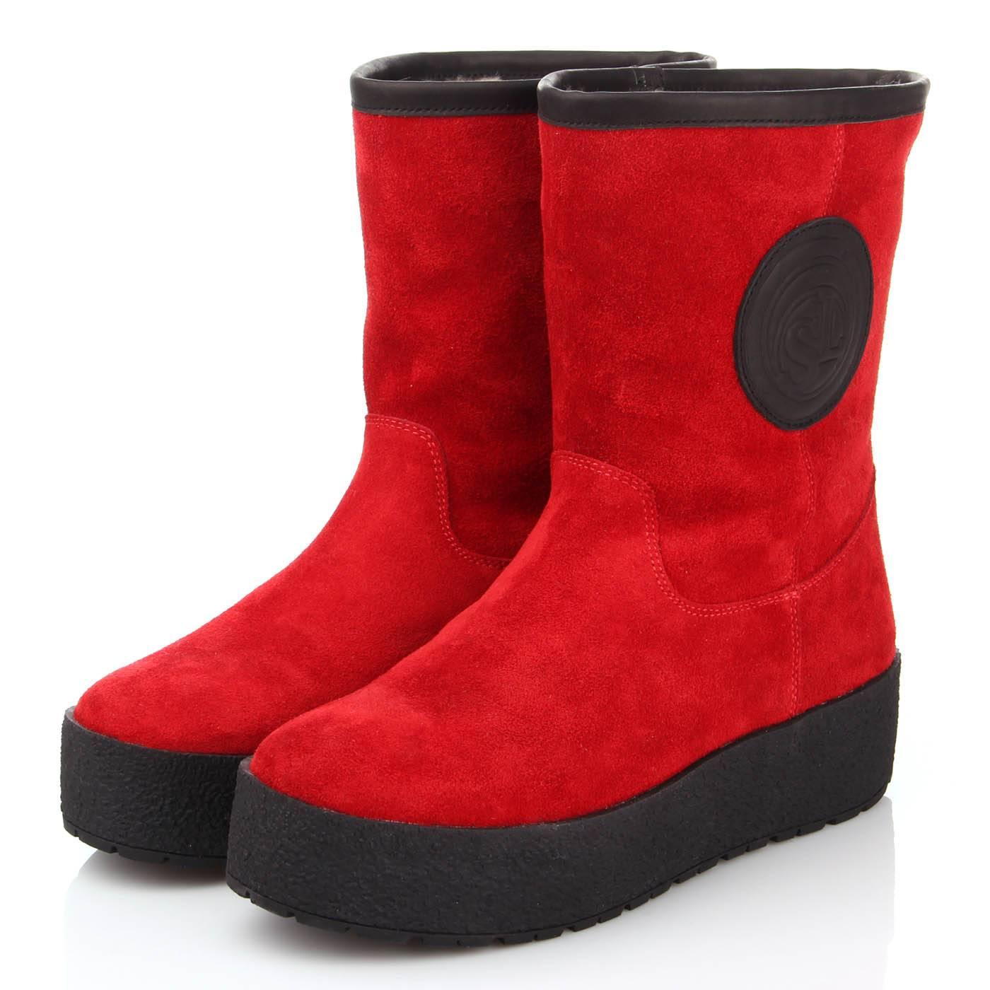 3f7bdf31d6fd Полусапоги женские bosa 5875 Красный купить по выгодной цене в ...