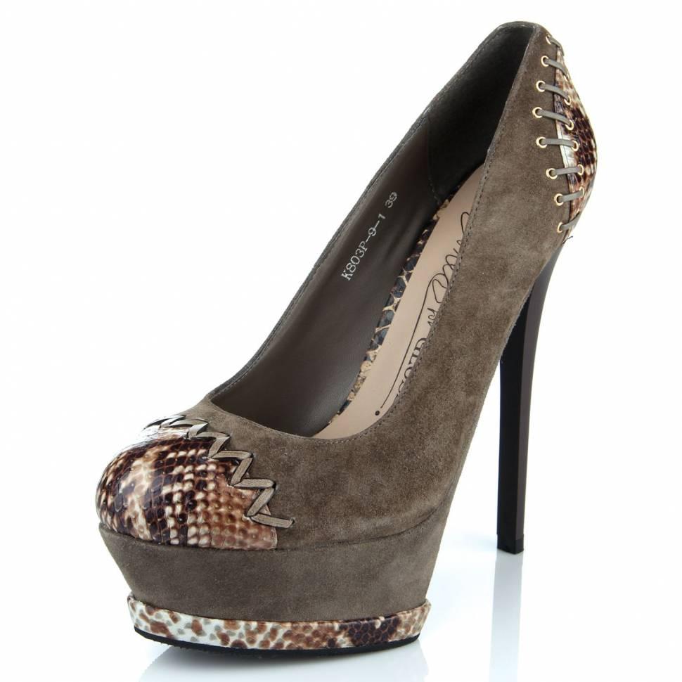 Туфли женские glossi 1380 Glossi