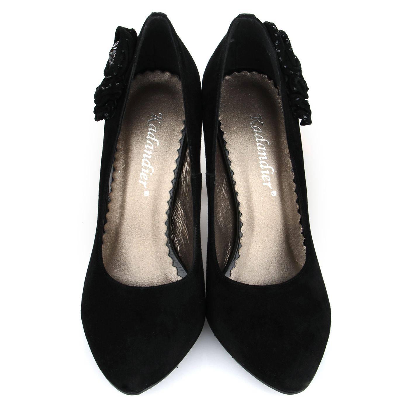 Туфлі жіночі kadandier +1384 Чорний купить по выгодной цене в ... 94f6f991b9dea