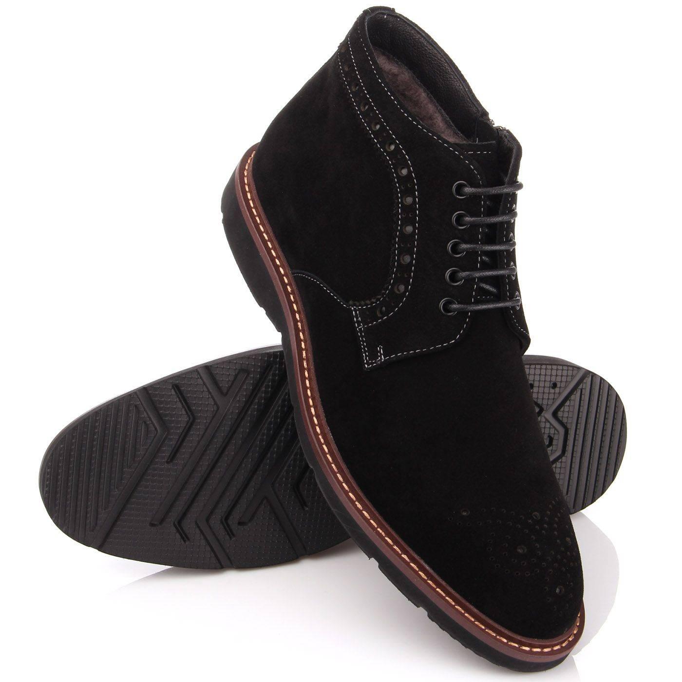 Черевики чоловічі Basconi 4586 Чорний купить по выгодной цене в ... 51c226cd6e32b