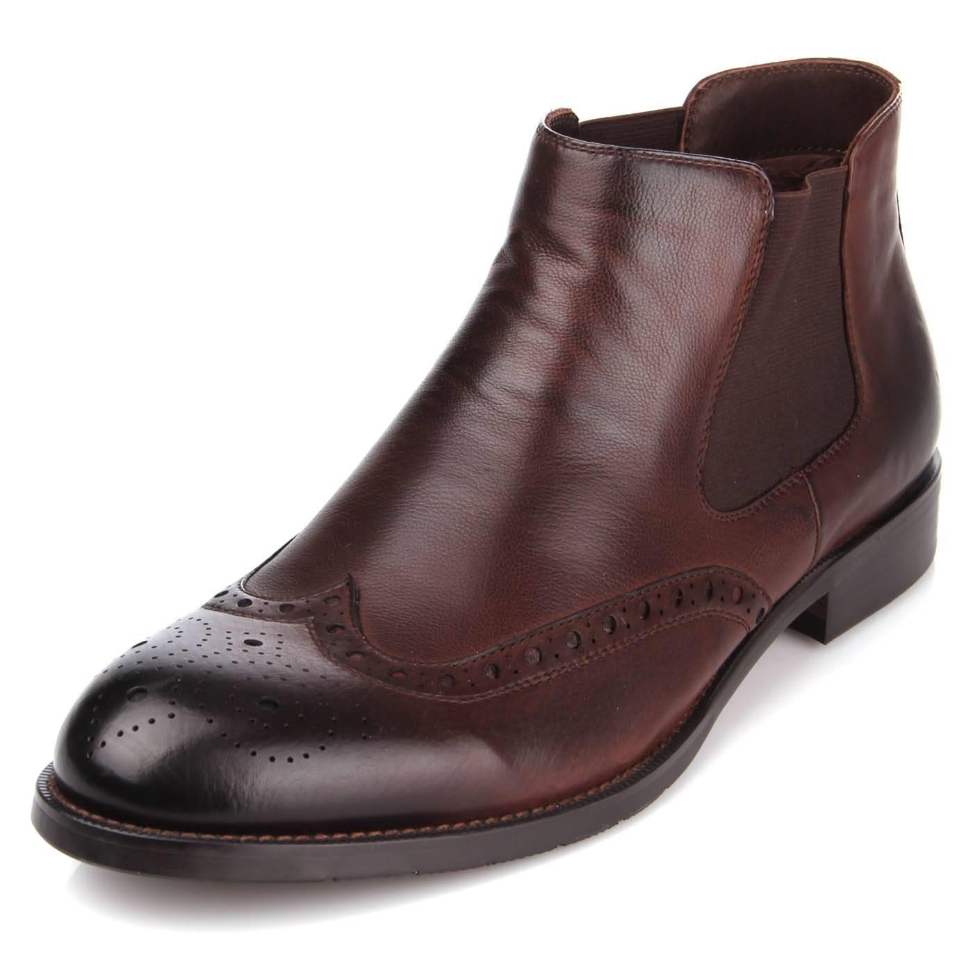 9fbd93d62420 Ботинки мужские ditto 7192 Коричневый купить по выгодной цене в ...