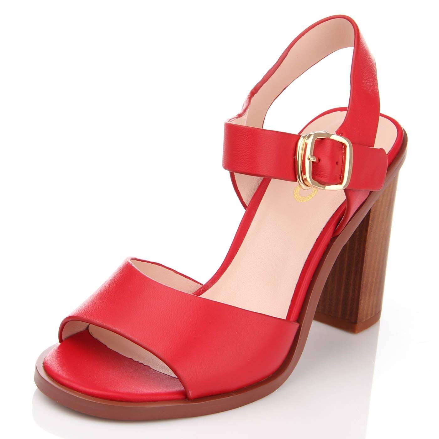 Босоніжки жіночі ditto 6694 Червоний купить по выгодной цене в ... b6ce6f97ac0d7