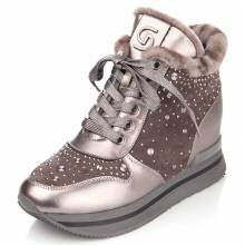 Жіночі черевики на танкетці купити в Харкові 7463362b06869