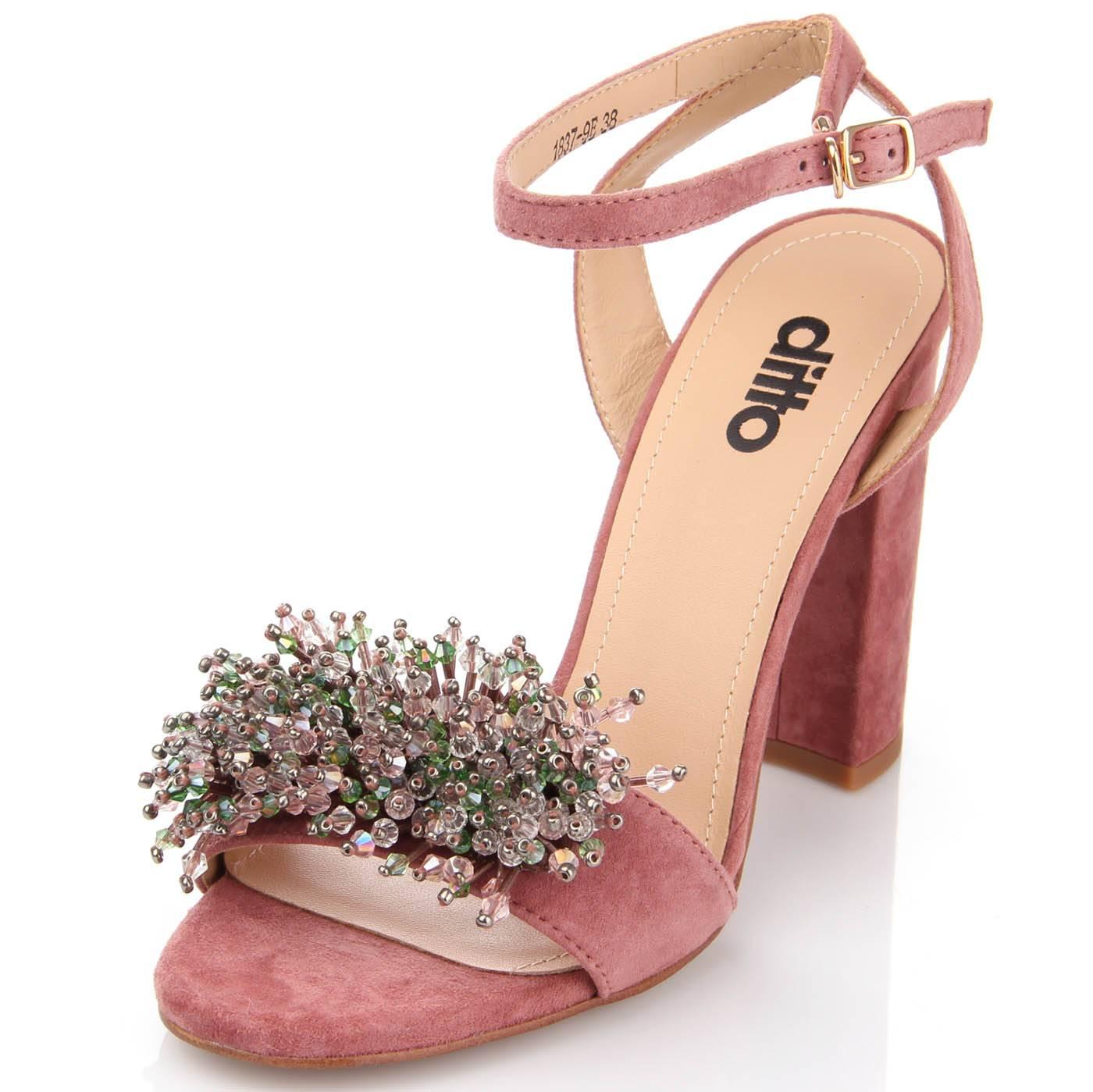 Босоніжки жіночі ditto 6599 Рожевий купить по выгодной цене в ... a2182098d8d9d